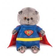 Мягкая игрушка Басик Baby в костюме супермена Уральск, Жезказган, Кызылорда, Талдыкорган, Экибастуз купить в магазине игрушек LEMUR.KZ