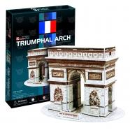 3D пазл Триумфальная арка (Франция) Усть Каменогорск, Актау, Кокшетау, Семей, Тараз купить в магазине игрушек LEMUR.KZ