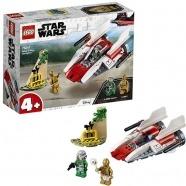 LEGO: Звёздный истребитель типа А Костанай, Атырау, Павлодар, Актобе, Петропавловск купить в магазине игрушек LEMUR.KZ