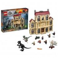LEGO: Нападение индораптора в поместье Алматы, Астана, Шымкент, Караганда купить в магазине игрушек LEMUR.KZ