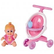 Bouncin' Babies Кукла Бони 16 см с коляской Уральск, Жезказган, Кызылорда, Талдыкорган, Экибастуз купить в магазине игрушек LEMUR.KZ
