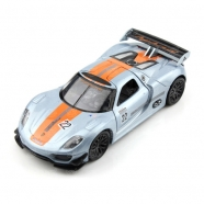 Welly модель машины 1:34-39 Porsche 918 RSR Уральск, Жезказган, Кызылорда, Талдыкорган, Экибастуз купить в магазине игрушек LEMUR.KZ