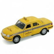 Welly модель машины Волга Такси Уральск, Жезказган, Кызылорда, Талдыкорган, Экибастуз купить в магазине игрушек LEMUR.KZ