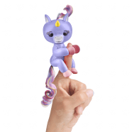 Fingerlings Интерактивный единорог Алика (пурпурный) Уральск, Жезказган, Кызылорда, Талдыкорган, Экибастуз купить в магазине игрушек LEMUR.KZ