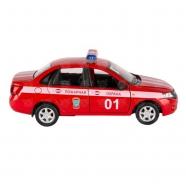 Welly модель машины 1:34-39 Lada Granta Пожарная охрана Алматы, Астана, Шымкент, Караганда купить в магазине игрушек LEMUR.KZ