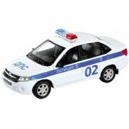 Welly модель машины 1:34-39 Lada Granta полиция Алматы, Астана, Шымкент, Караганда купить в магазине игрушек LEMUR.KZ