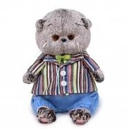 Мягкая игрушка Басик Baby в полосатом пиджаке Костанай, Атырау, Павлодар, Актобе, Петропавловск купить в магазине игрушек LEMUR.KZ