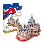 3D пазл Собор Святого Павла (Великобритания) Алматы, Астана, Шымкент, Караганда купить в магазине игрушек LEMUR.KZ