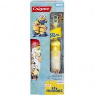 Colgate Kids Battery Powered Toothbrush Minions Алматы, Астана, Шымкент, Караганда купить в магазине игрушек LEMUR.KZ