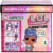 Набор мебели L.O.L. Surprise! Набор мебели с куклой Queen Костанай, Атырау, Павлодар, Актобе, Петропавловск купить в магазине игрушек LEMUR.KZ