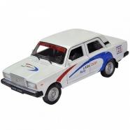 Welly модель машины  1:34-39 Lada 2107 Rally Уральск, Жезказган, Кызылорда, Талдыкорган, Экибастуз купить в магазине игрушек LEMUR.KZ