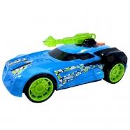 Машинка Hot Wheels на бат. свет+звук голубая 27 см Алматы, Астана, Шымкент, Караганда купить в магазине игрушек LEMUR.KZ