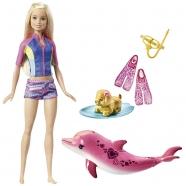 Игровой набор Барби 'Подводное плавание' Алматы, Астана, Шымкент, Караганда купить в магазине игрушек LEMUR.KZ