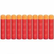 NERF Комплект 10 стрел для бластеров МЕГА Уральск, Жезказган, Кызылорда, Талдыкорган, Экибастуз купить в магазине игрушек LEMUR.KZ
