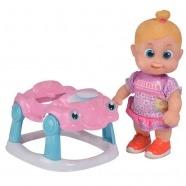 Bouncin' Babies Кукла Бони 16 см с машиной Алматы, Астана, Шымкент, Караганда купить в магазине игрушек LEMUR.KZ