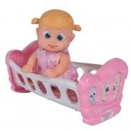 Bouncin' Babies Кукла Бони 16 см с кроваткой Костанай, Атырау, Павлодар, Актобе, Петропавловск купить в магазине игрушек LEMUR.KZ