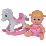 Bouncin' Babies Кукла Бони 16 см с лошадкой-качалкой Усть Каменогорск, Актау, Кокшетау, Семей, Тараз купить в магазине игрушек LEMUR.KZ