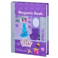 Развивающая игра Magnetic Book 'Кокетка' Алматы, Астана, Шымкент, Караганда купить в магазине игрушек LEMUR.KZ