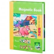 Развивающая игра Magnetic Book 'Живность тогда и теперь' Костанай, Атырау, Павлодар, Актобе, Петропавловск купить в магазине игрушек LEMUR.KZ