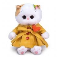 Мягкая игрушка Кошечка Ли-Ли Baby в плаще и с сердечком Алматы, Астана, Шымкент, Караганда купить в магазине игрушек LEMUR.KZ