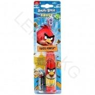 Детская вибрационная зубная щетка Angry Birds Firefly красная  Алматы, Астана, Шымкент, Караганда купить в магазине игрушек LEMUR.KZ