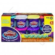 пластилина Play-Doh PLUS 8 баночек Алматы, Астана, Шымкент, Караганда купить в магазине игрушек LEMUR.KZ