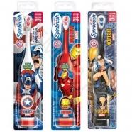Детская электрическая зубная щетка SpinBrush 'Arm & Hammer' Супергерои Марвел Уральск, Жезказган, Кызылорда, Талдыкорган, Экибастуз купить в магазине игрушек LEMUR.KZ