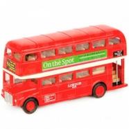 Welly модель автобуса London Bus Усть Каменогорск, Актау, Кокшетау, Семей, Тараз купить в магазине игрушек LEMUR.KZ