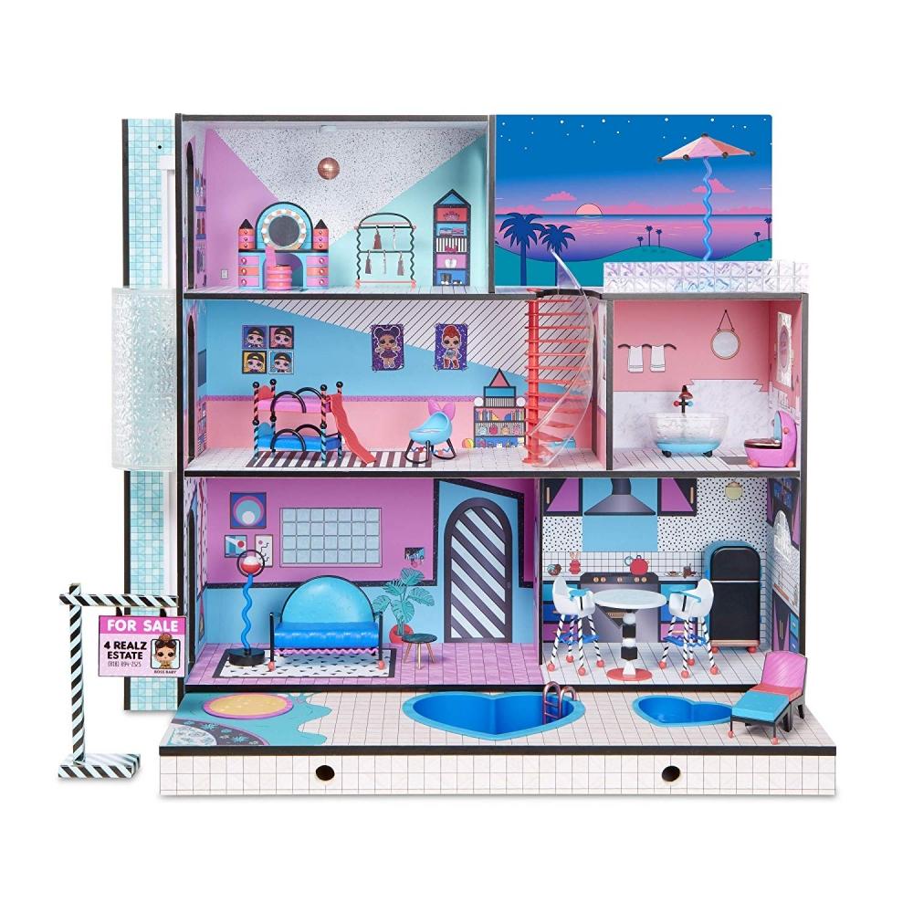 огромный набор Lol Surprise дом машина оригинал алматы